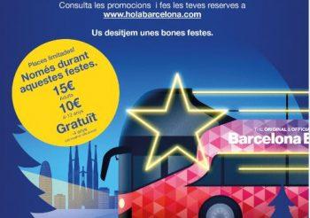 Agotadas las entradas para el Barcelona Christmas Tour