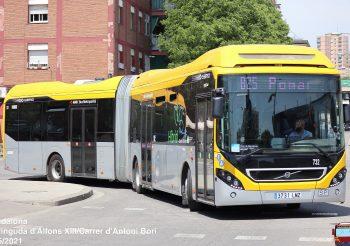 Entran en servicio los Volvo 7900 Hybrid S-Charge articulados de Tusgsal