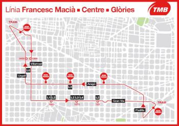 TMB creará una nueva línea que dará servicio a la calle Aragó