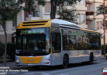Soler i Sauret renumera toda la flota de sus servicios urbanos