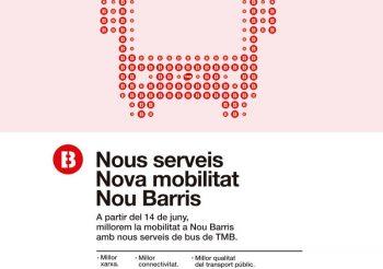 Comienzan a funcionar las nuevas líneas de TMB heredadas de Bus Nou Barris