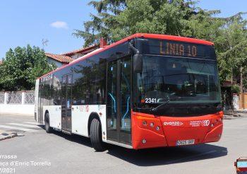 El Ayuntamiento de Terrassa prorroga nuevamente el servicio de autobús