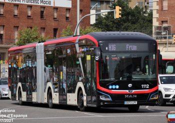 Entra en servicio comercial el coche 1112 de TMB