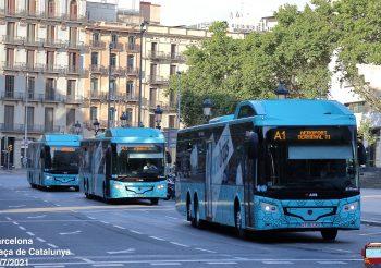 Se inicia el servicio del aerobús operado por Monbus
