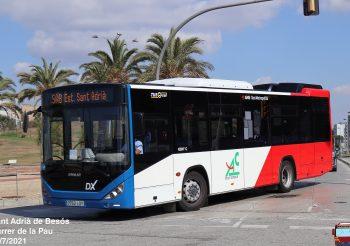 La AMB instaura una nueva lanzadera en Sant Adrià de Besós