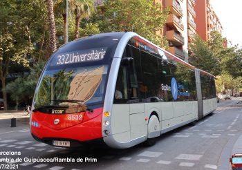 Adjudicado a Irizar el lote de los 29 autobuses articulados eléctricos de TMB