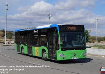 Monbus repinta un Mercedes Citaro C2 procedente de la antigua concesión de la línea 88