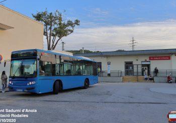 Sale a concurso el servicio urbano de Sant Sadurní d'Anoia