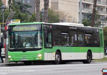 Se incendia un autobús de Baixbus Rosanbus en El Prat de Llobregat